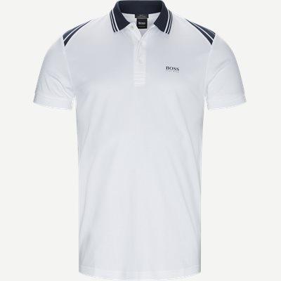 Paule1 Polo T-shirt Slim | Paule1 Polo T-shirt | Hvid