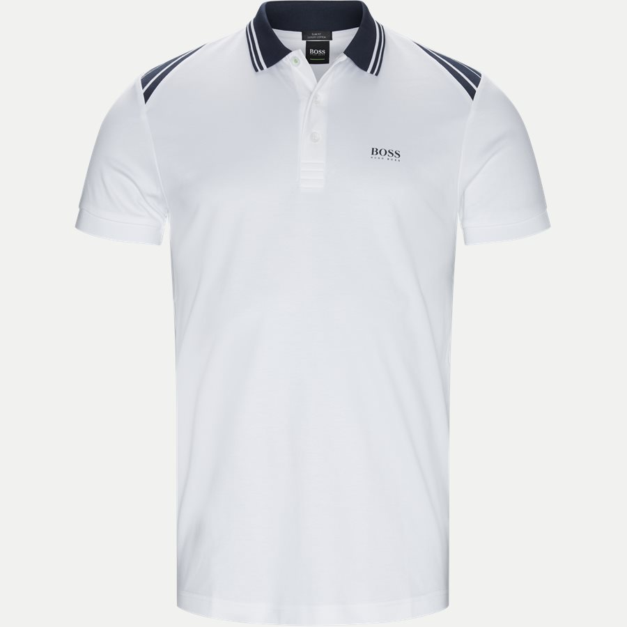 50404272 PAULE 1 - Paule1 Polo T-shirt - T-shirts - Slim - HVID - 1