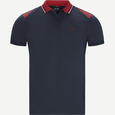 Paule1 Polo T-shirt Slim | Paule1 Polo T-shirt | Blå