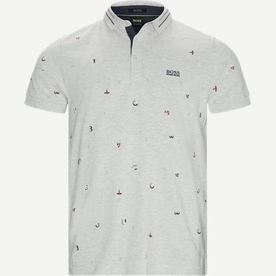 Paddy 7 Polo T-shirt Regular | Paddy 7 Polo T-shirt | Grå