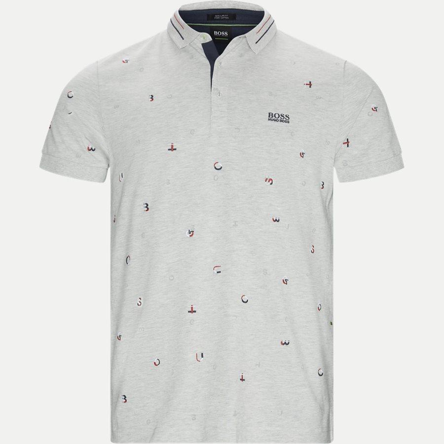 50404209 PADDY 7 - Paddy 7 Polo T-shirt - T-shirts - Regular - GRÅ - 1