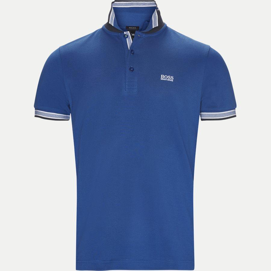 50398302 PADDY. - Paddy Polo T-shirt - T-shirts - Regular - BLÅ/HVID - 3