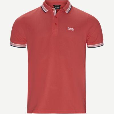 Paddy Polo T-shirt Regular | Paddy Polo T-shirt | Rød
