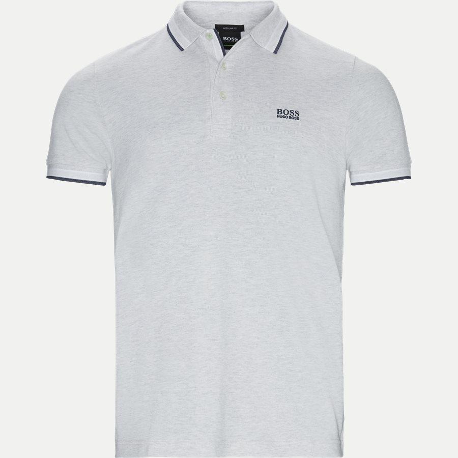 50398302 PADDY. - Paddy Polo T-shirt - T-shirts - Regular - GRÅ - 1