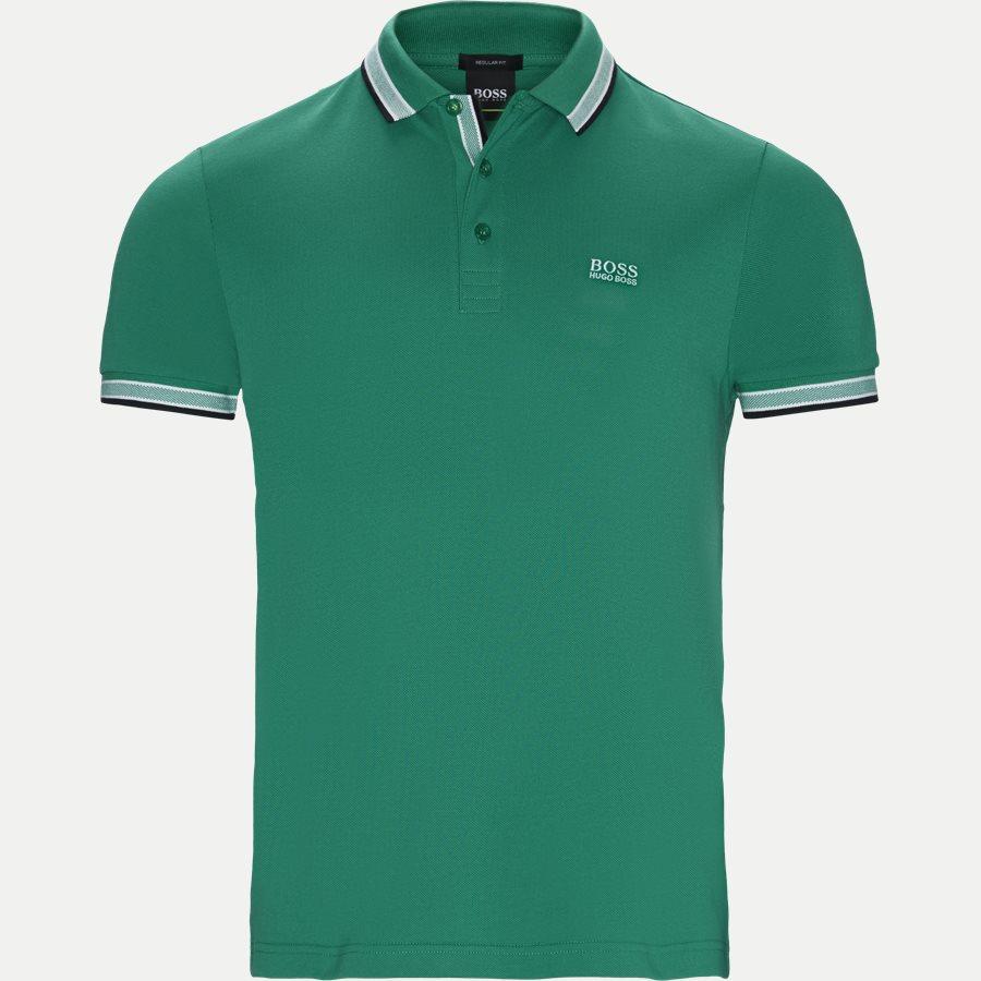 50398302 PADDY. - Paddy Polo T-shirt - T-shirts - Regular - GRØN - 1