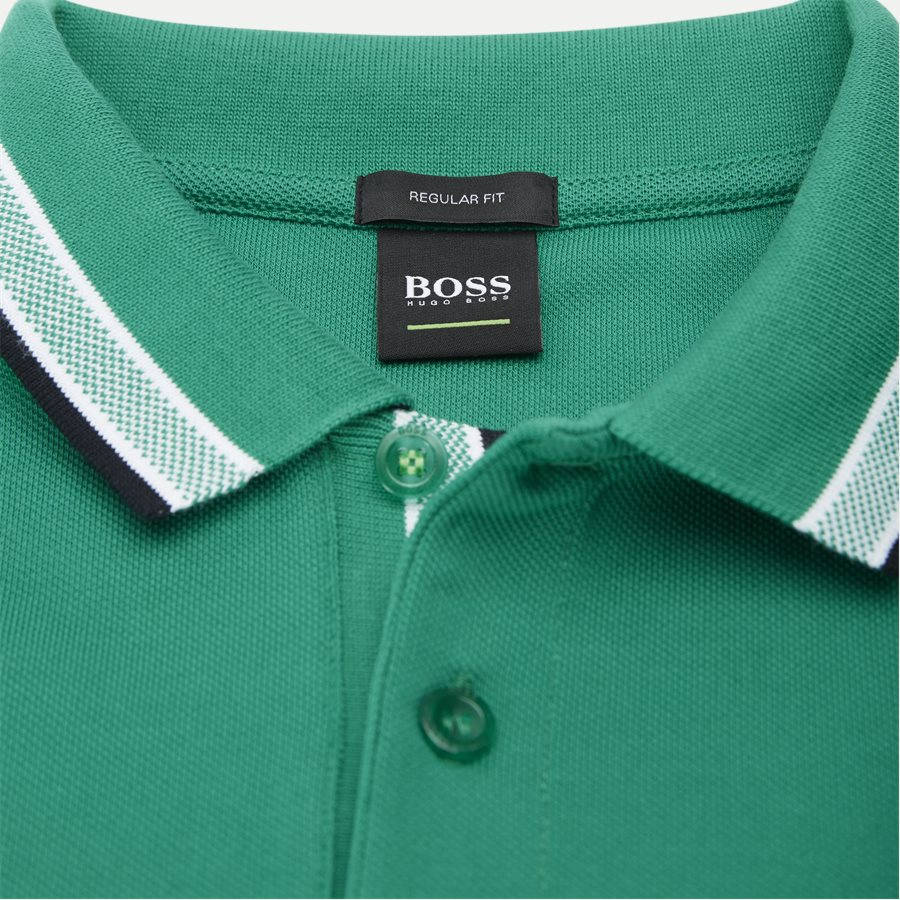 50398302 PADDY. - Paddy Polo T-shirt - T-shirts - Regular - GRØN - 4