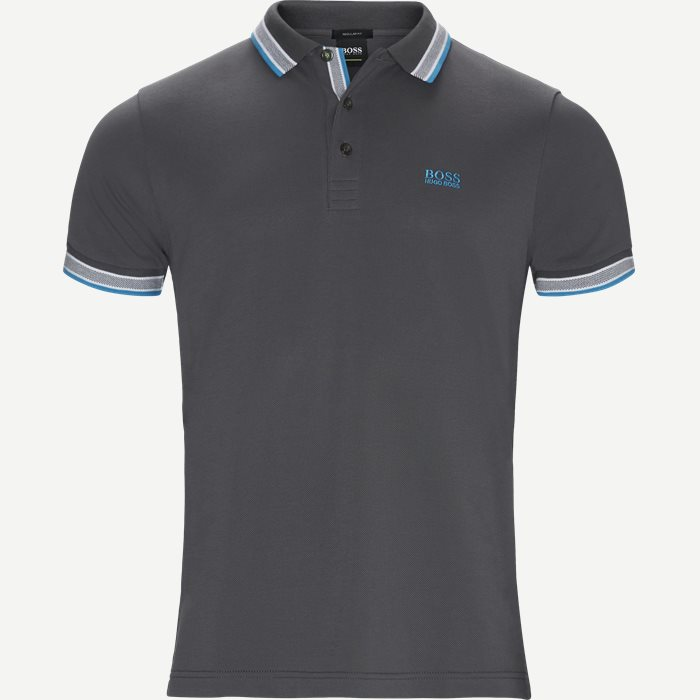 Paddy Polo T-shirt - T-shirts - Regular - Grå