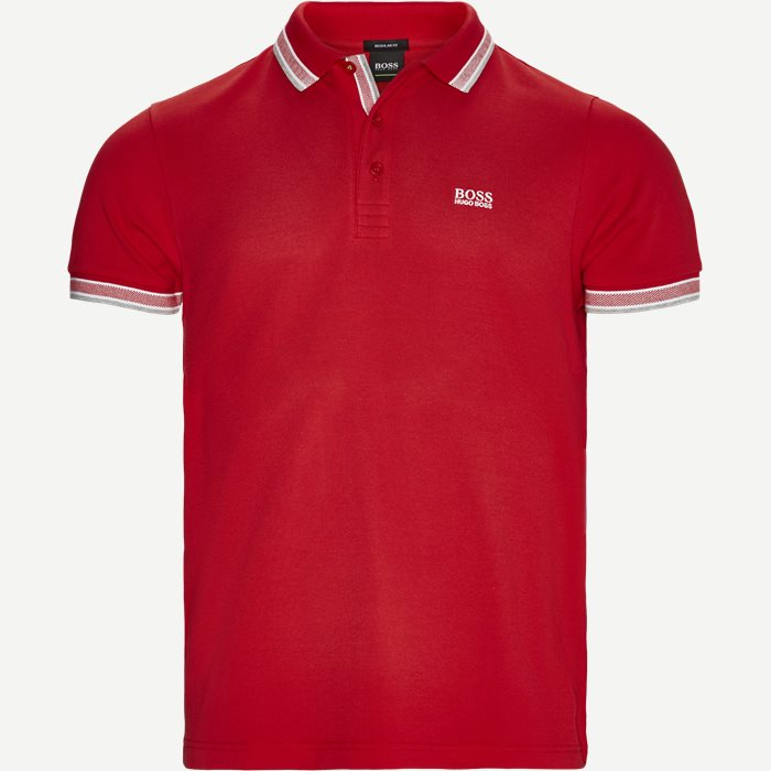 Paddy Polo T-shirt - T-shirts - Regular - Rød