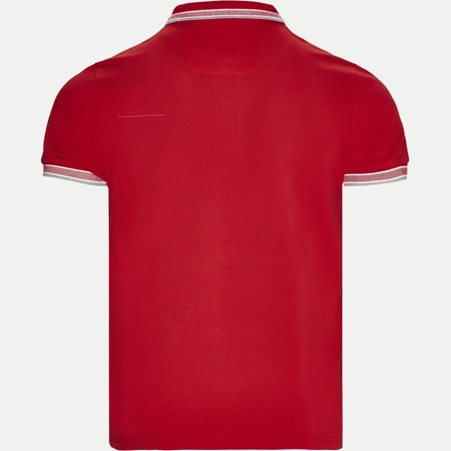 50398302 PADDY. - Paddy Polo T-shirt - T-shirts - Regular - RØD/HVID - 2