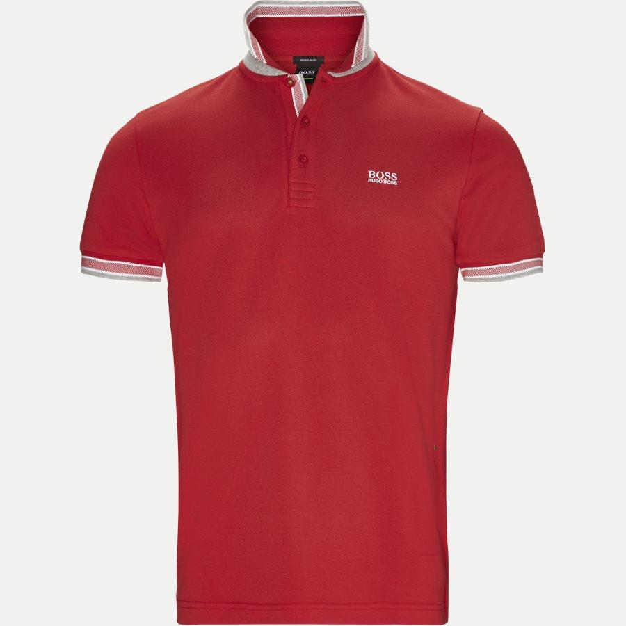 50398302 PADDY. - Paddy Polo T-shirt - T-shirts - Regular - RØD/HVID - 3