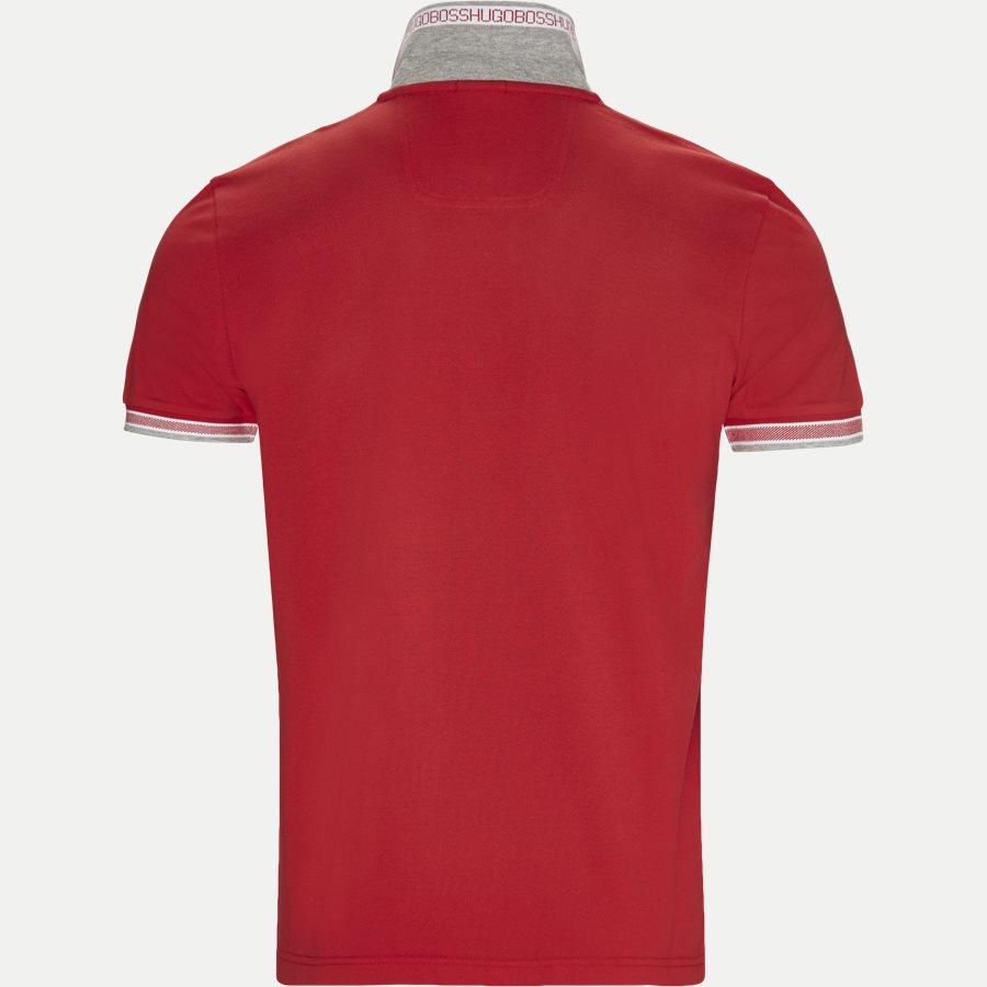 50398302 PADDY. - Paddy Polo T-shirt - T-shirts - Regular - RØD/HVID - 4