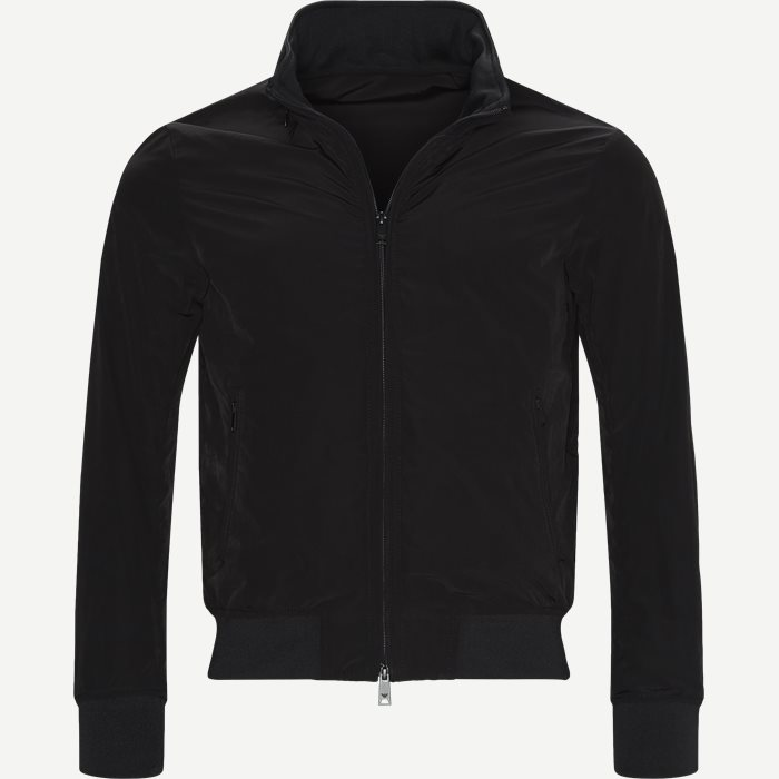 Blouson Jacket - Jakker - Regular - Sort