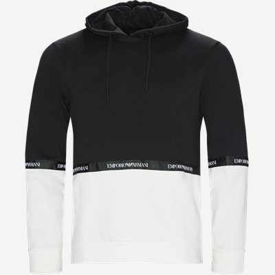 Sweatshirt Med Hætte Regular | Sweatshirt Med Hætte | Sort