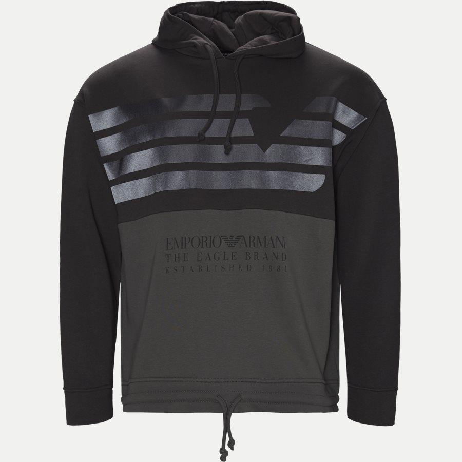 3G1M75 1J36Z - Hoodie Sweatshirt - Sweatshirts - Regular - GRÅ - 1