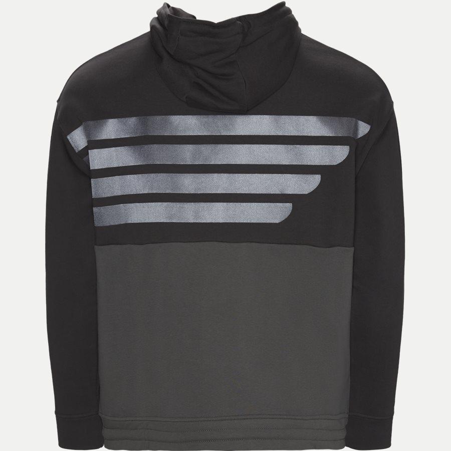 3G1M75 1J36Z - Hoodie Sweatshirt - Sweatshirts - Regular - GRÅ - 2