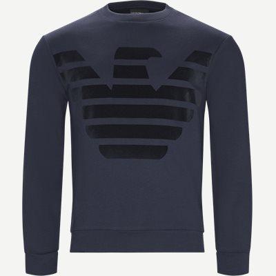 Crew Neck Sweatshirt Regular | Crew Neck Sweatshirt | Blå