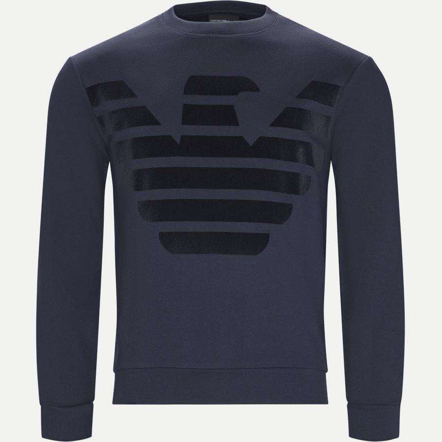 3G1M67 1J07Z - Crew Neck Sweatshirt - Sweatshirts - Regular - BLÅ - 1