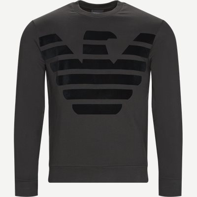 Crew Neck Sweatshirt Regular | Crew Neck Sweatshirt | Grå