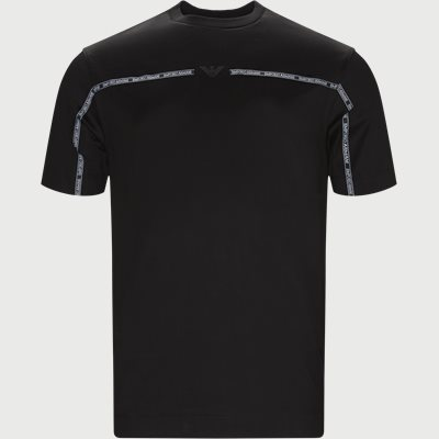 Crew Neck T-shirt Regular | Crew Neck T-shirt | Sort