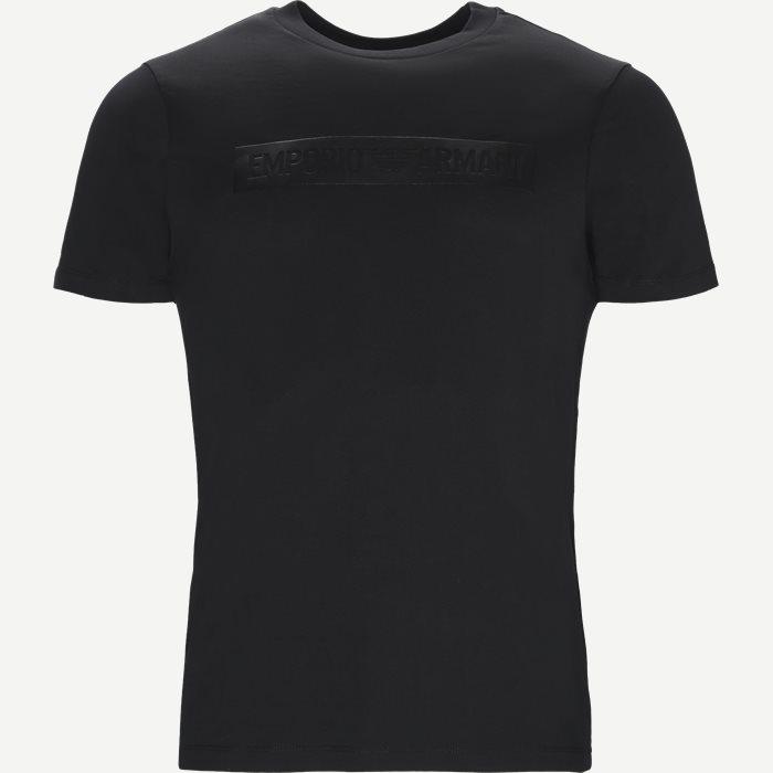 Crew Neck T-shirt - T-shirts - Regular - Sort