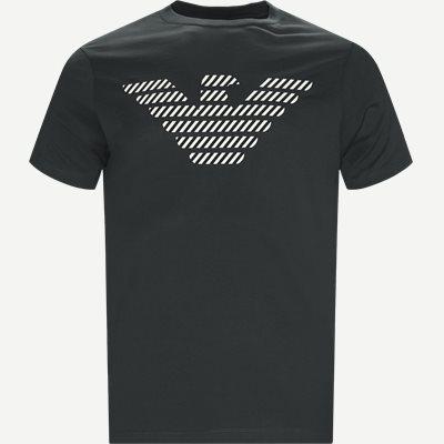 Crew Neck T-shirt Regular | Crew Neck T-shirt | Grøn