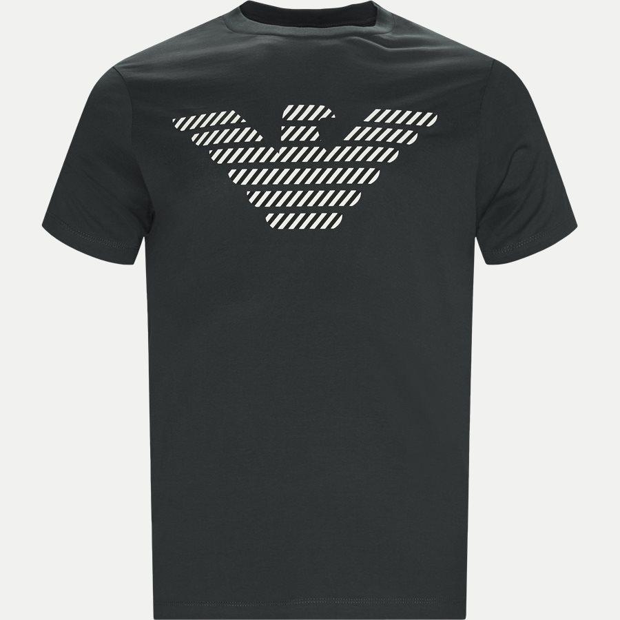 3G1T94 1J30Z - Crew Neck T-shirt - T-shirts - Regular - GRØN - 1