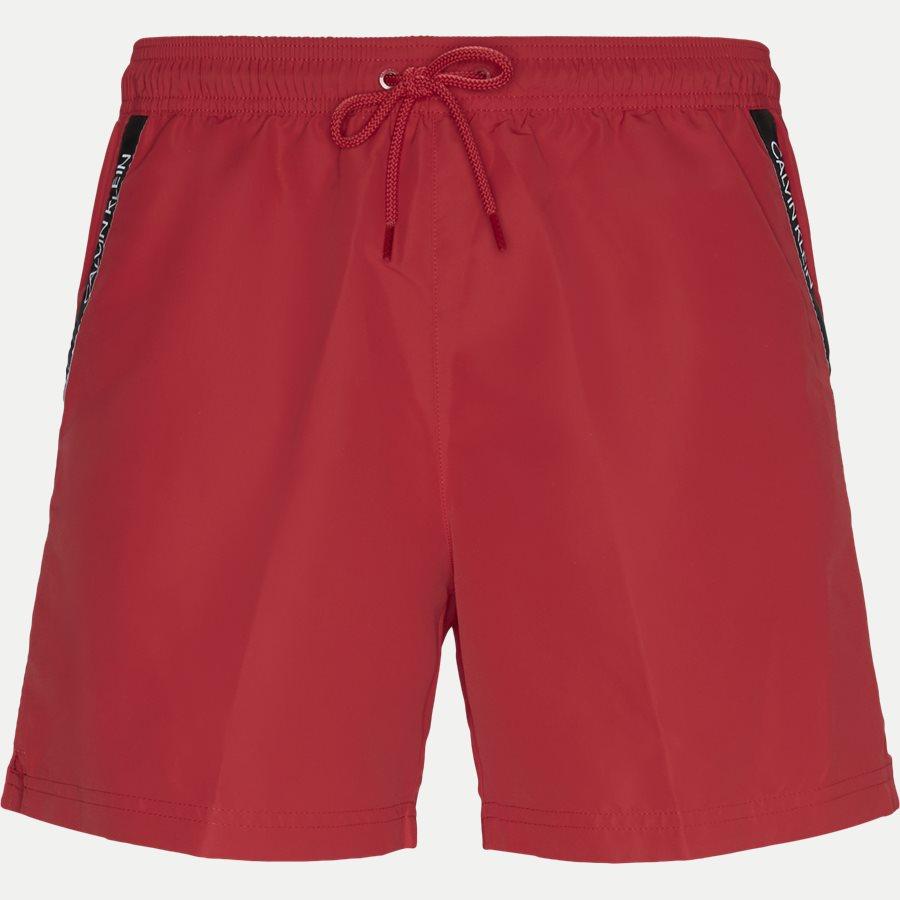KM0KM00285 MEDIUM DRAWSTRING - Medium Drawstring Badeshorts - Shorts - Regular - RØD - 1