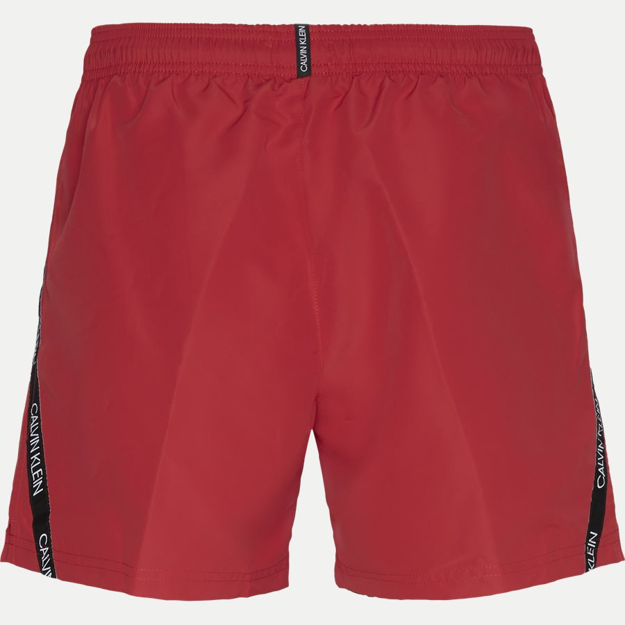 KM0KM00285 MEDIUM DRAWSTRING - Medium Drawstring Badeshorts - Shorts - Regular - RØD - 2