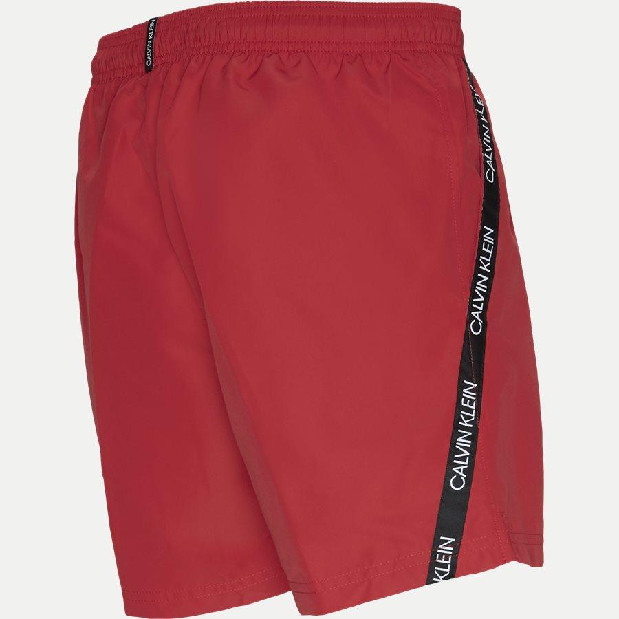 KM0KM00285 MEDIUM DRAWSTRING - Medium Drawstring Badeshorts - Shorts - Regular - RØD - 3