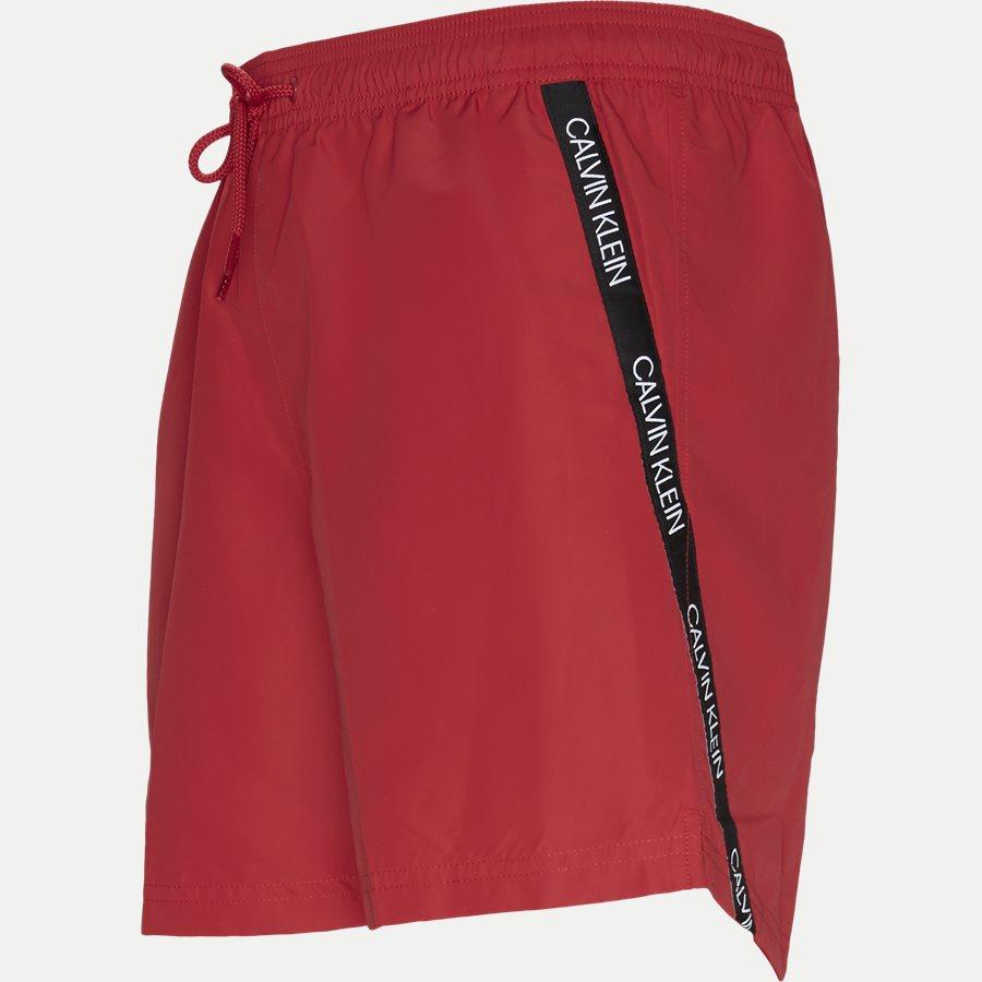 KM0KM00285 MEDIUM DRAWSTRING - Medium Drawstring Badeshorts - Shorts - Regular - RØD - 4