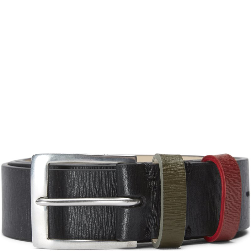 paul smith accessories Paul smith accessories 5773 agrian bælter black fra axel.dk