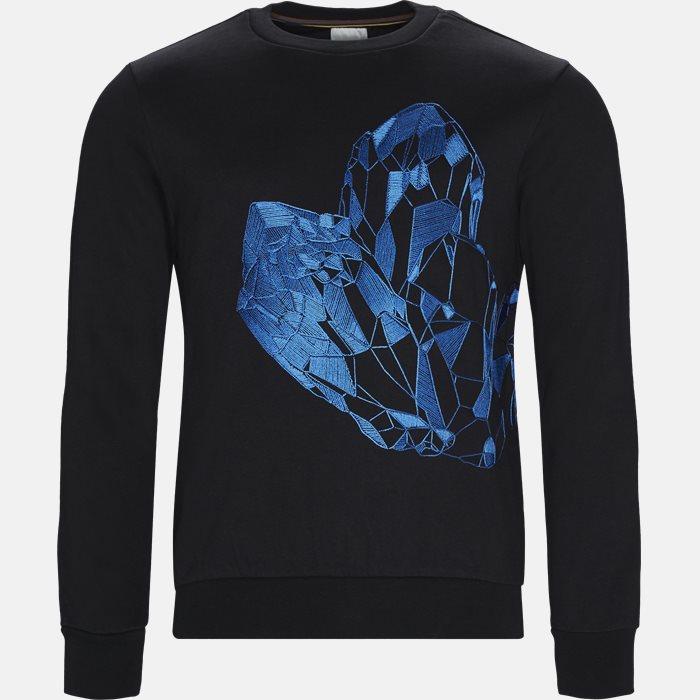 Sweatshirt  - Sweatshirts - Regular fit - Sort