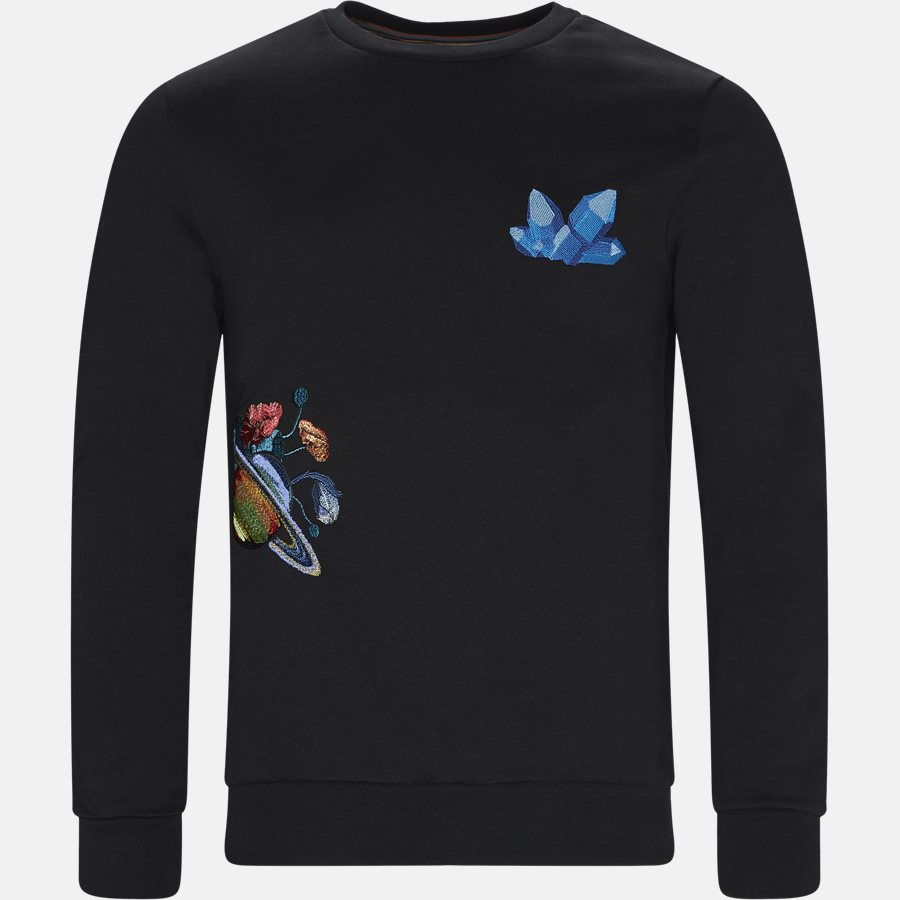 302S1 A00347 - Sweatshirts - BLACK - 1