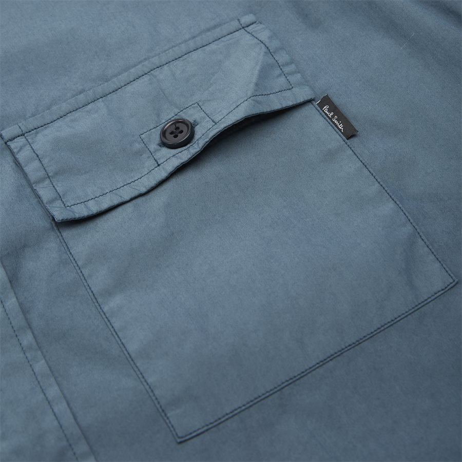 157T A20251 - Skjorter - Casual fit - GREY/BLUE - 4