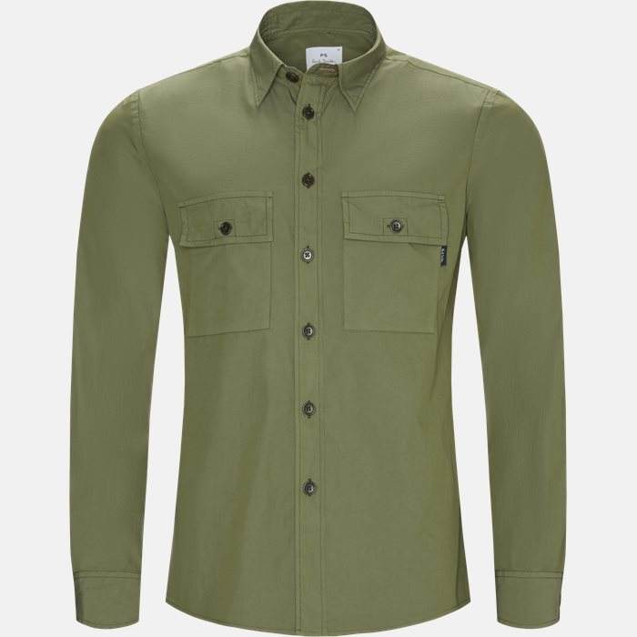 Shirts - Casual fit - Army