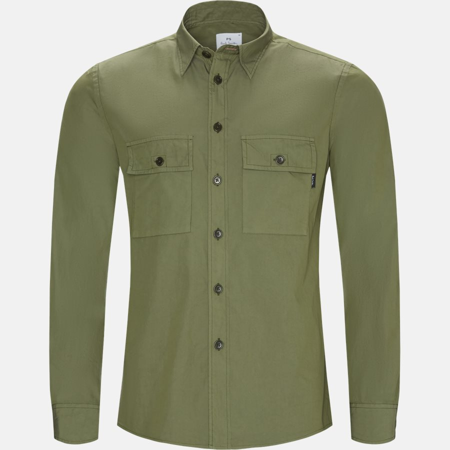 157T A20251 - Skjorter - Casual fit - OLIVE - 1