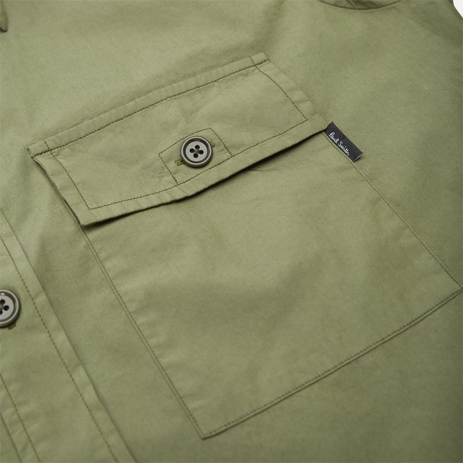 157T A20251 - Skjorter - Casual fit - OLIVE - 4