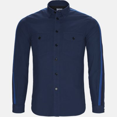 Casual fit | Skjorter | Blå