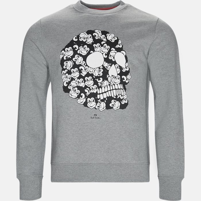 Sweatshirts - Regular fit - Grey