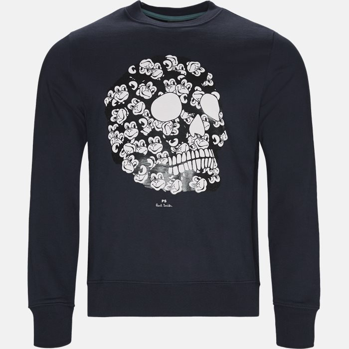 Sweatshirt  - Sweatshirts - Regular fit - Blå