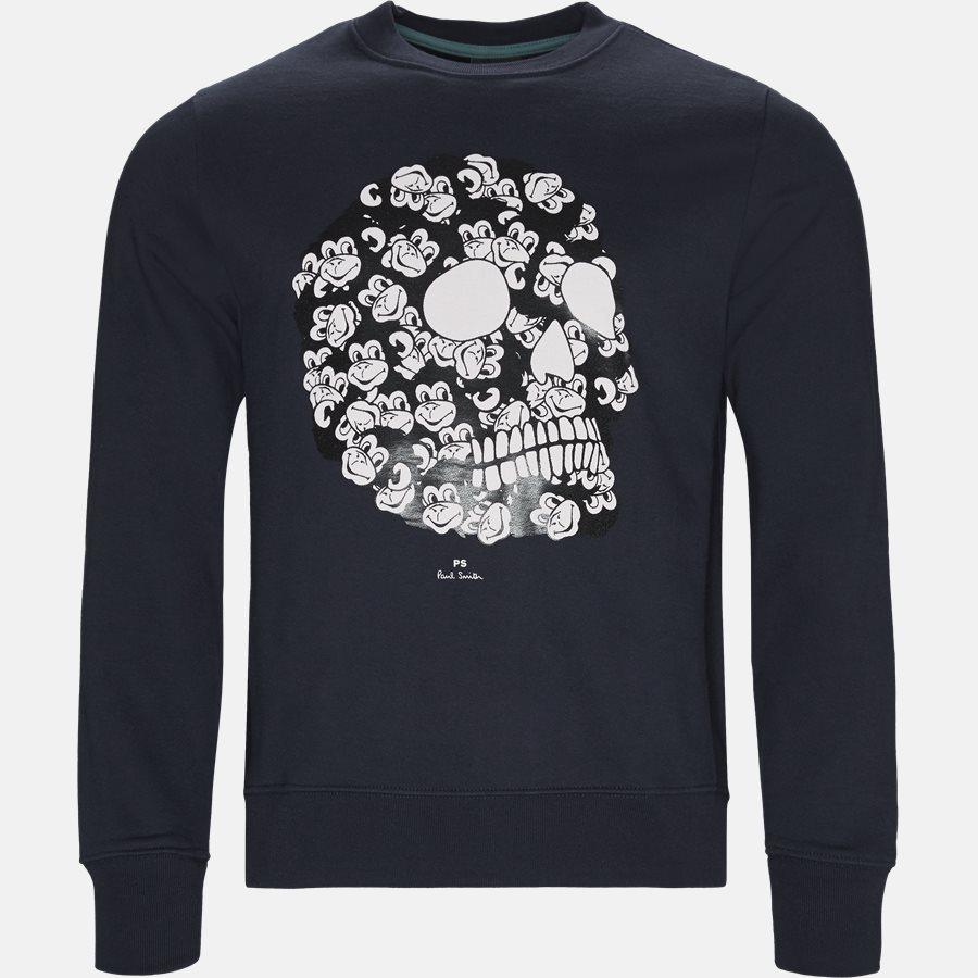 27R P1059 - Sweatshirt  - Sweatshirts - Regular fit - NAVY - 1