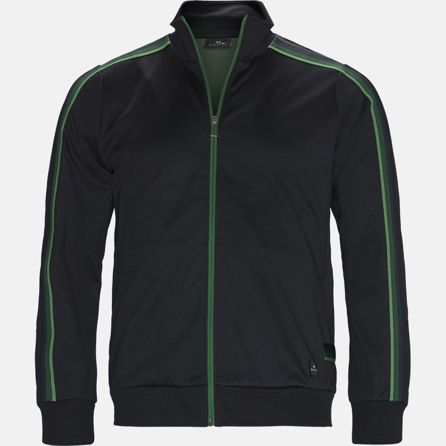 130T A20245 - Sweatshirts - Regular fit - BLACK - 1