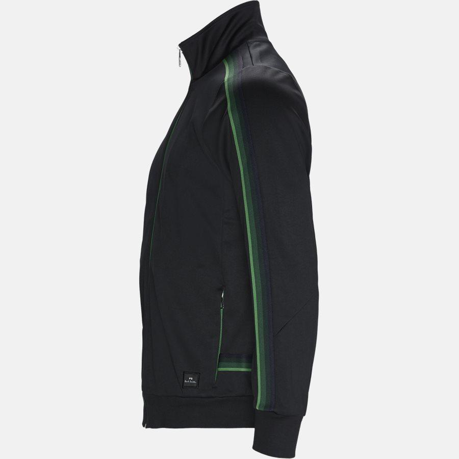 130T A20245 - Sweatshirts - Regular fit - BLACK - 3
