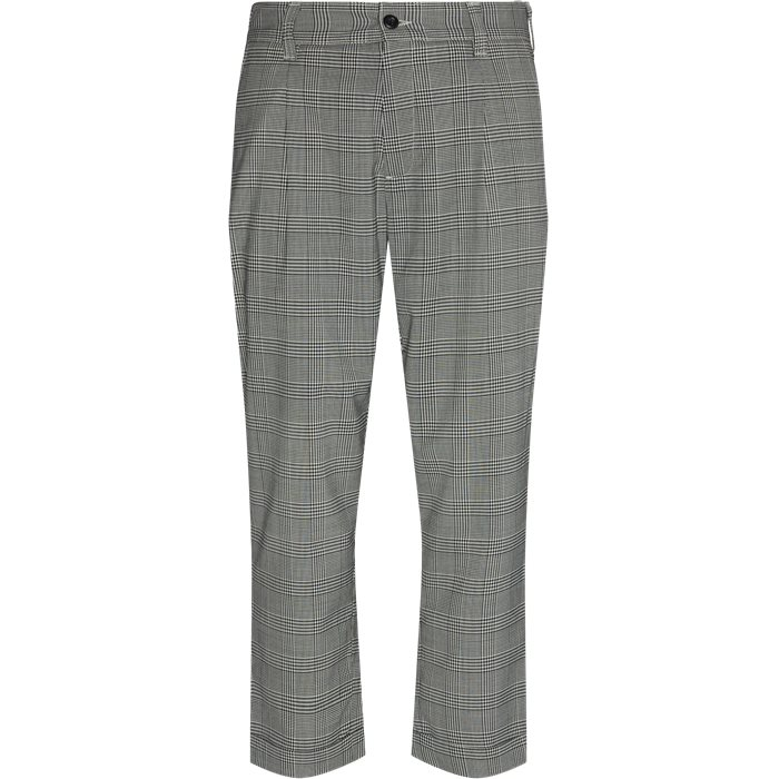Trousers - Straight fit - Multi