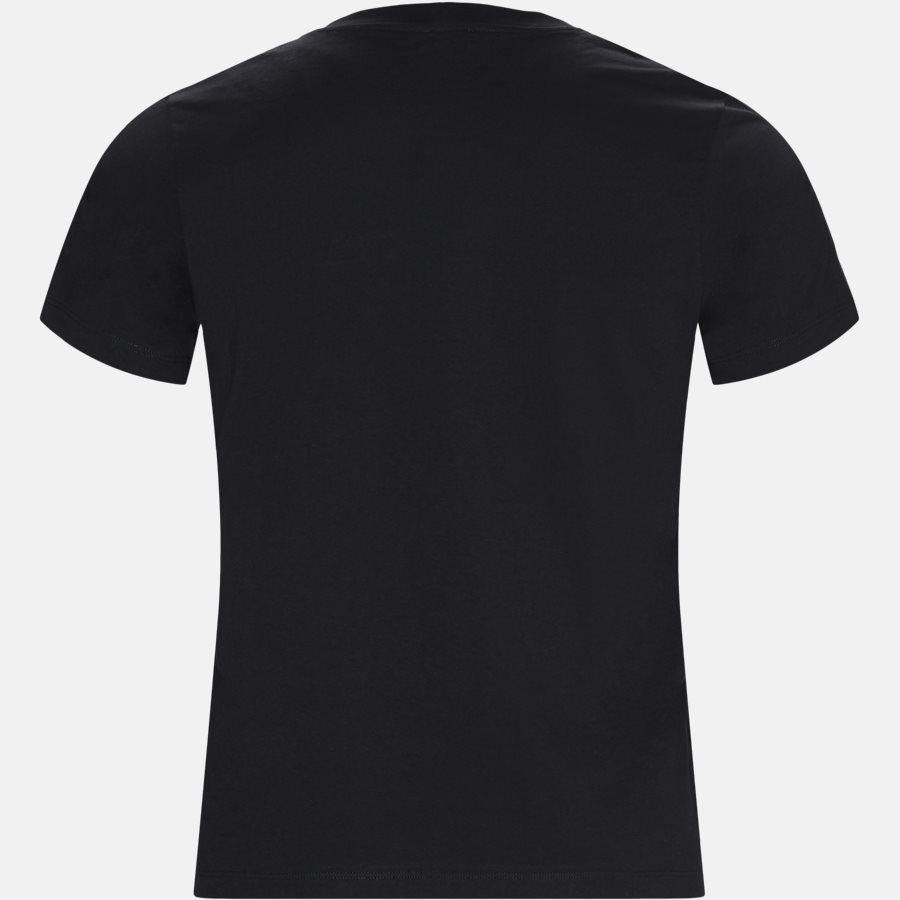 F865TS0504YV - T-shirts - Slim - BLACK - 2