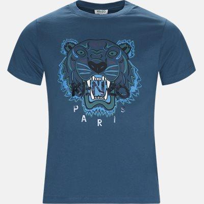 Slim | T-shirts | Blå