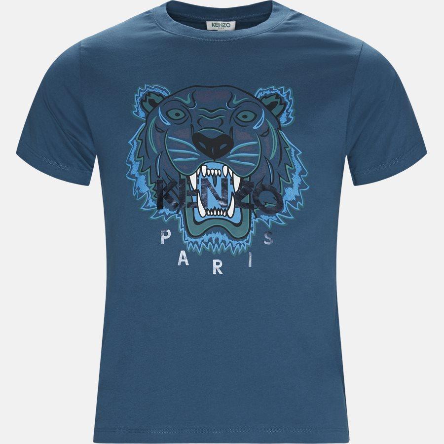 F865TS0504YV - T-shirts - Slim - PETROL - 1