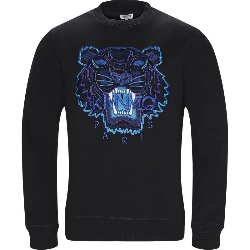 Billede af Kenzo Regular slim fit F865SW0014XV Sweatshirts Black