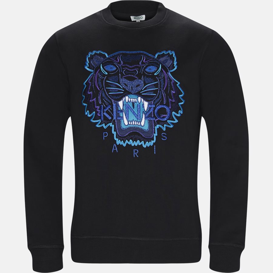 F865SW0014XV - Sweatshirts - Regular slim fit - BLACK - 1