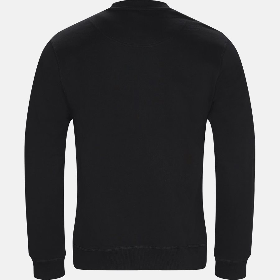 F865SW0014XV - Sweatshirts - Regular slim fit - BLACK - 2